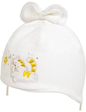 Baby Winter Mütze mit Fleece-Futter - Kopfumfang 38-42 cm - 1 bis 5 Monate