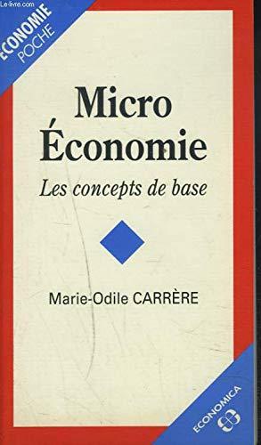 Micro-économie par Marie-Odile Carrere