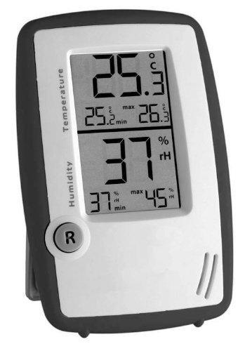 TFA Thermometer Hygrometer Room Control (anthrazit)