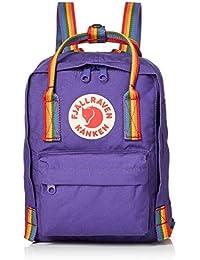 FJALLRAVEN Kånken Mini Mochila, Unisex Adulto, (Purple/Rainbow Pattern), Talla