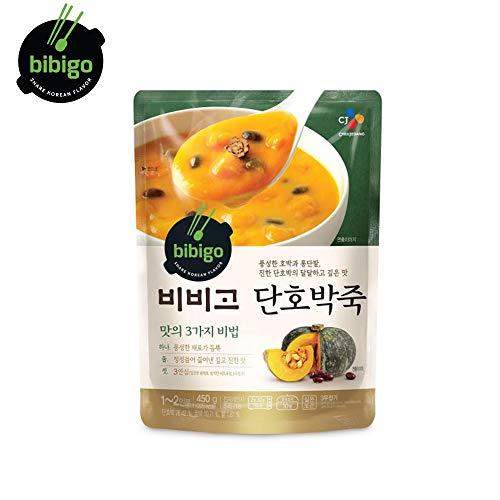 BIBIGO Süßer Kürbis Brei Koreanisches Fertiggericht-gesunder sofortiger Brei