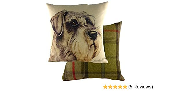 Animal Collectables Schnauzer Cushion Cover For Schnauzer Fans Fast Dispatch Uk Seller Collectables Ubi Uz
