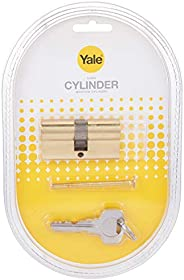 Yale Double Cylinder, 10-0502-3030-00-02-01, Polished Brass