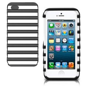 New iLuv Pulse Schutzhülle Schutz für Apple iPhone 5& iPhone 5s-Schwarz Htc Fusion