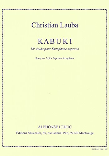 Lauba Kabuki Etude Book