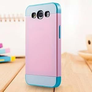 Generic Hybrid-Schutzhülle aus Silikon für Samsung Galaxy S3S III i9300i9305rose/weiß/türkis/Gloss