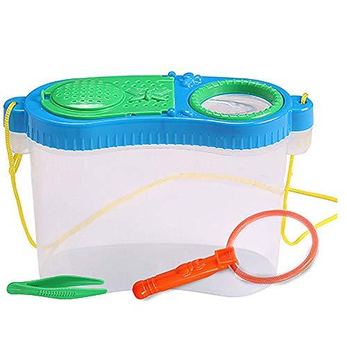 Starter Frühkindliche Bildung Experimentelle Forschung Kunststoff Werkzeugkasten Insekt Fütterung Einfach Zu Tragen Beobachtung Box Net Zucht Box Puzzle Spielzeug Für Wissenschaft Im Freien Experiment (Nettes Spielzeug Box)