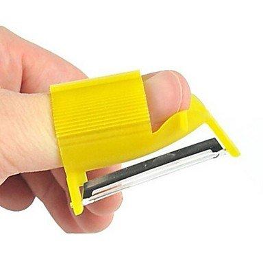 Déroulage Multifonctionnel, Plastique 5,5 × 3,3 × 2,3 Cm (2,2 × 1,3 × 1,0 Pouces) De Couleur Aléatoire