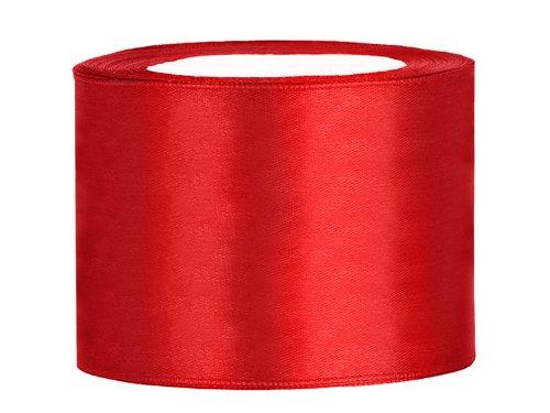 Satinband Dekoband 50 mm breit (rot) (Band Rot)