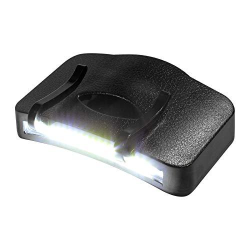 Eaxus®️ LED Stirnlampe - Cap Light Kopflampe für Mützen & Schildkappen