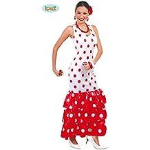 Disfraz de Sevillana Blanca para mujer adulta