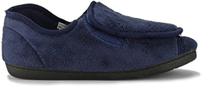Dr Keller - Zapatillas de estar por casa de Material Sintético para hombre Azul azul marino -