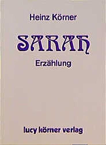 Sarah. Erzählung
