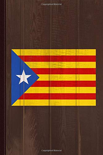 Catalonia Journal Notebook: Blank Lined Ruled For Writing 6x9 120 Pages por Flippin Sweet Books