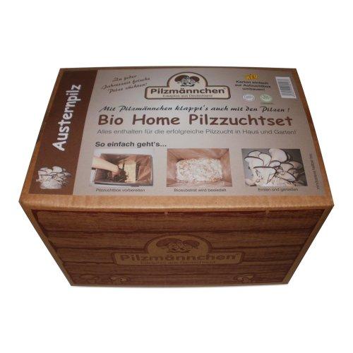 Bio Home Pilzzuchtset für Austernpilze