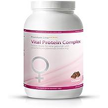 Vital Protein Complex - 750g - Schokolade - Für die Frau - Gesund abnehmen