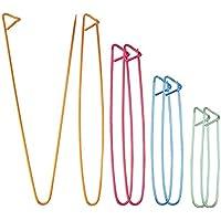 8pcs Aiguilles à Tricoter Crochet Coloré Epingles à Nourrice Aiguilles à Tricoter Marqueur Aiguilles à Tricoter Outil, 4…