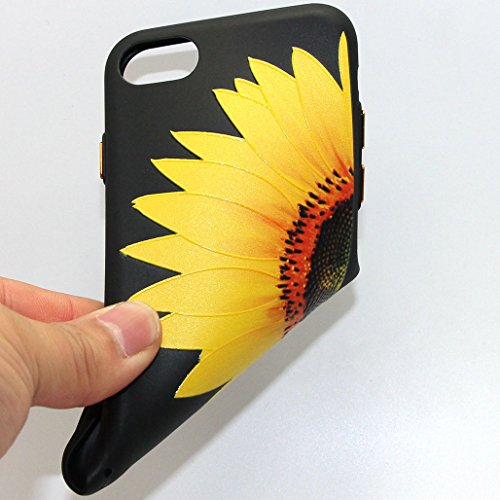 custodia iphone 7 girasoli