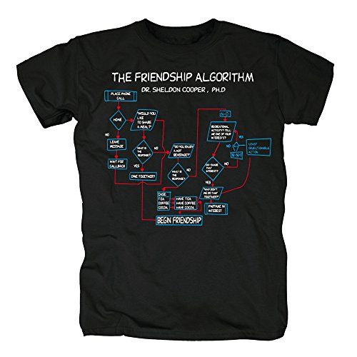 TSP The Friendship Algorithm T-Shirt Herren