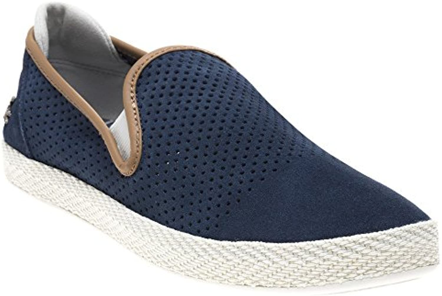 Lacoste Tombre Slip on Herren Sneaker Navy