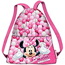 b4376c3b5 Karactermania Minnie Mouse Bubblegum Bolsas de Tela y de Playa, 40 cm, Rosa