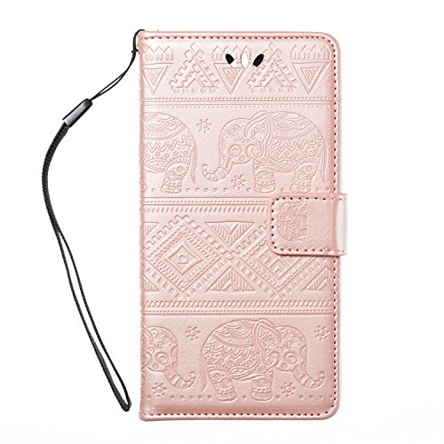 SKYEE Portafoglio Custodia i Cover iPhone 7 con porta tessera