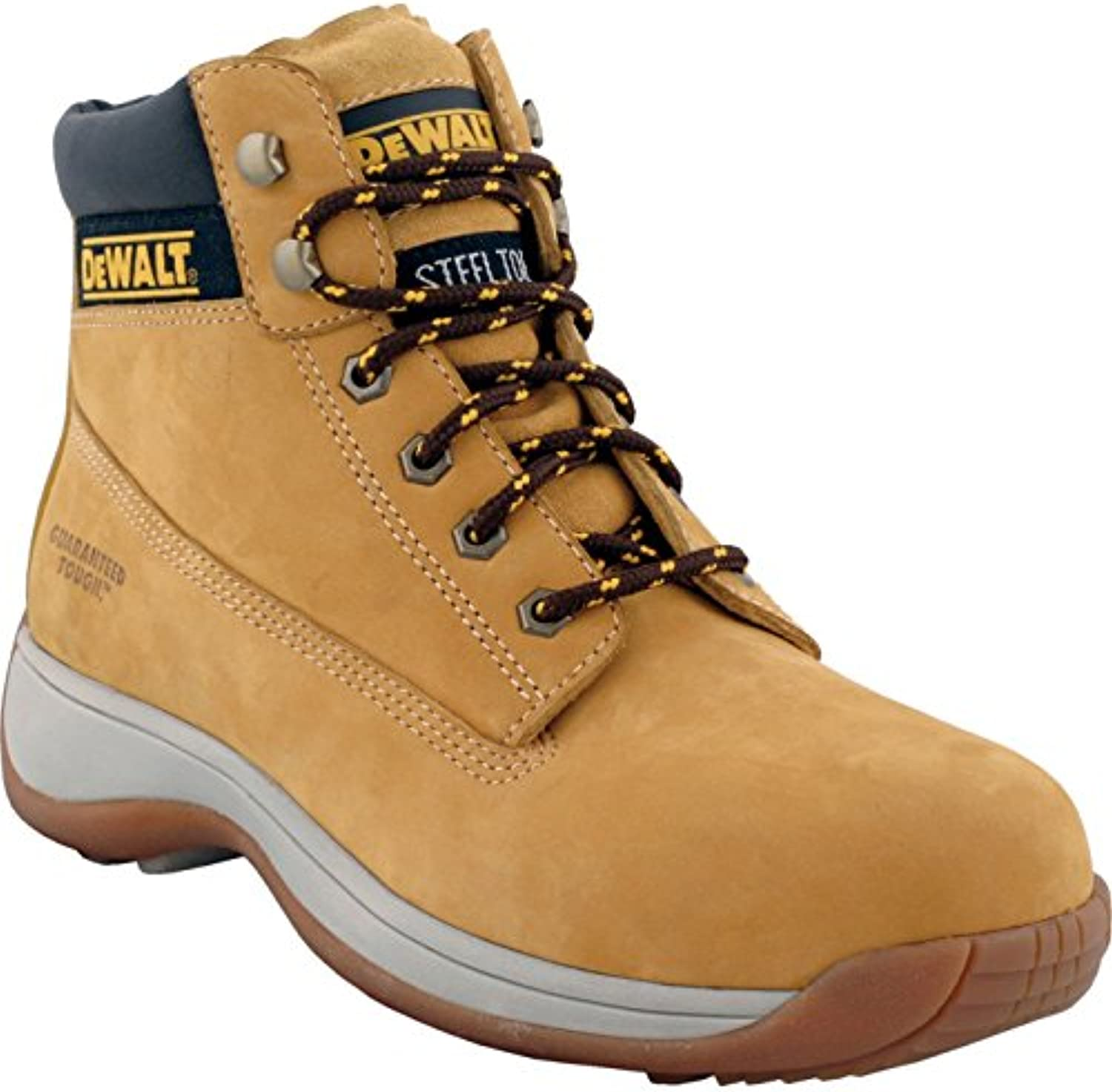 DeWalt Apprentice Nubuck Sports Safety Work Boots Wheat Size 11