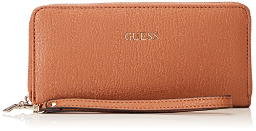 GUESS Jacqui SLG Small Trifold Brown, Taille unique