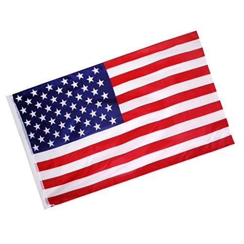 Gazechimp americano usa bandiera grande striscione 150* 90cm festa compleanno decorazione