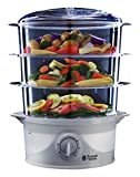 Best Baby Food Steamers - Russell Hobbs 21140 3-Tier Food Steamer, 800 W Review