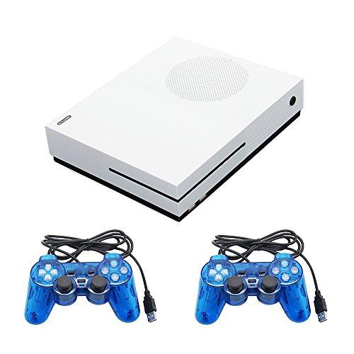 Family game console, supporto connect tv video game player preinstallato 600 giochi classici per x-game, con 2 joystick in dotazione