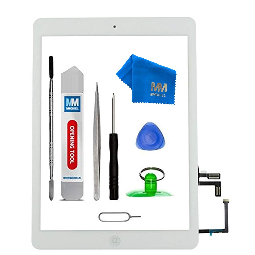 Screen Compatible with iPad Air Fix Kit White
