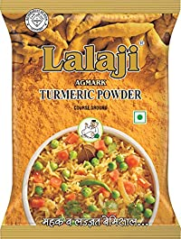 Lalaji Supreme Quality Turmeric Powder Used in Dishes for its Taste and Color (500)