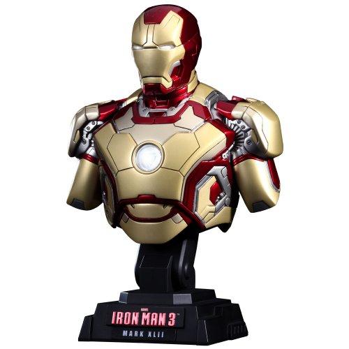 Iron Man 3 buste 1/4 Iron Man Mark XLII Hot Toys