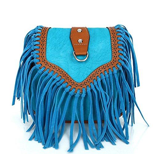 Mefly Single Schulter Tasche Tasche Sky blue
