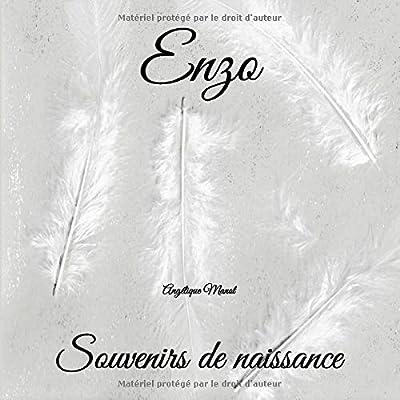 ENZO Souvenirs de naissance: album à compléter et personnaliser avec vos photos
