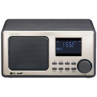 Lenco DAR-010 - DAB+ Radio mit Alarmfunktion und UKW Radio in Schwarz