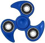 Spin-it Finger Spinner Ninja Fidget Spielzeug für Kinder und Erwachsene (Blau)