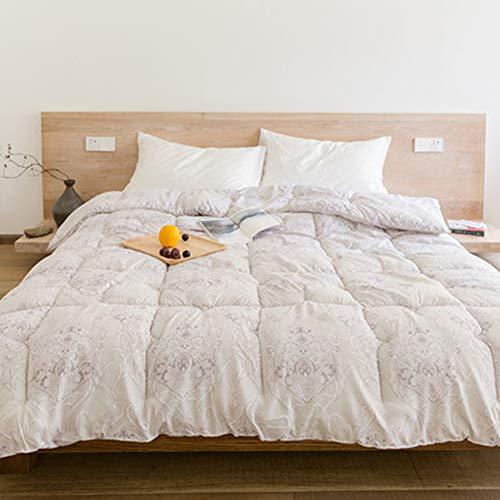Xianw Sleep Restoration Down Alternative Tröster - Best Hotel Quality Hypoallergen Duvet Insert Bettwäsche - Full/Queen,B,150X200cm(59X79inch)
