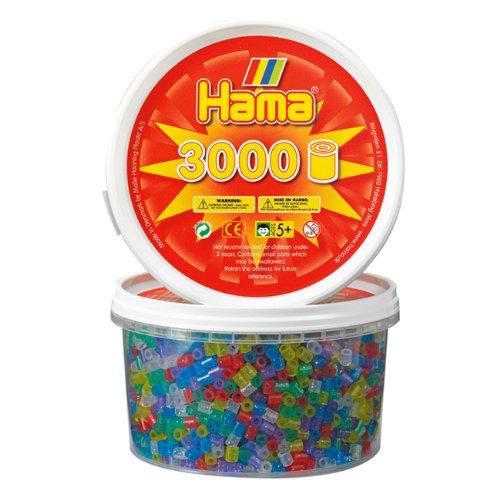 Hama Beads - 3000 Glitter Mix (Midi Beads)