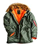Alpha Industries Damen Parka grün L