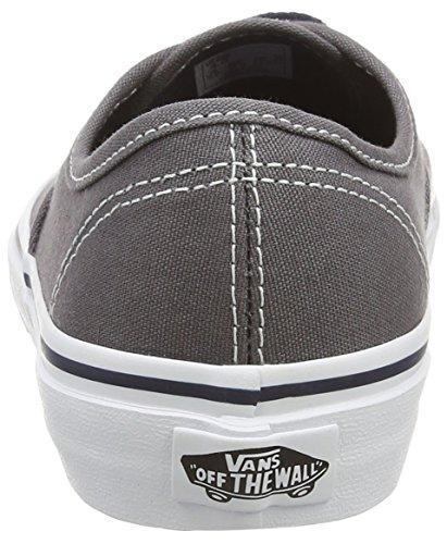 Vans K Authentic Pop, Baskets Basses Mixte Enfant Gris ((pop) Pewt