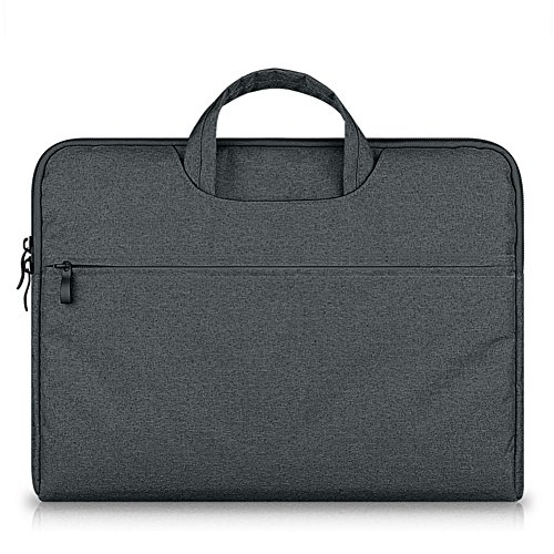 GADIEMENSS Water-resistant Laptop Sleeve Case Bag Portable Computer handbag For Apple Macbook Air Pro and other Notebook 11.6 inches Deep Gray (Revolve 810 Fall)