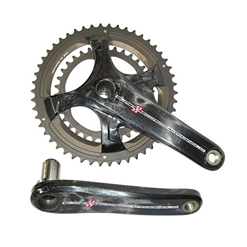 Guarnitura Campagnolo Super Record 11s carb.CT Ultra-T.TI FC15-SR240CT 34-50 denti, 172,5mm