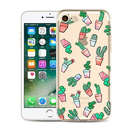 "CoqueiPhone 5S Etui Housse,BoomTeck Coque Pour 4.0"" Apple iPhone 5/iPhone SE/iPhone 5S Silicone Souple Transparente Motif Clear Ultra Mince Anti Choc Anti-rayures Gel TPU Etui Protection Bumper Case  10"