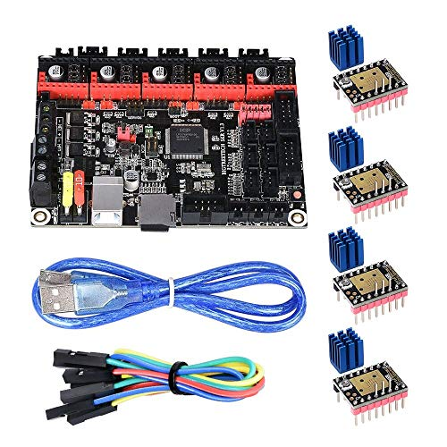 KINGPRINT SKR V1 3 Smoothieware 32bit Controller Board for 3D Printer  Compatible with 12864LCD / Support A4988 / 8825 / TMC2208 / TMC2100 Driver  (SKR