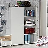 Kommode weiß Anrichte Schrank Sideboard Schubladenkommode Aufbewahrung Kinderzimmer Jugendzimmer Kinderzimmerkommode