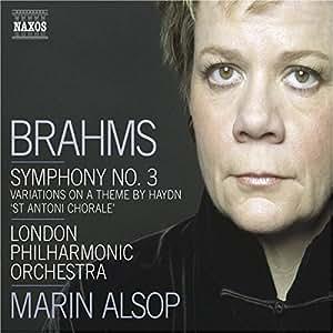 Brahms: Symphonie Nr. 3 / Haydn: Variationen