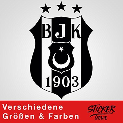 Logo 30 (BESIKTAS 3 Yildiz - Aufkleber Wandtattoo Wandaufkleber Auto Sticker Autosticker Autoaufkleber Kartal Logo (20cm (B) x 30cm (H), Schwarz))