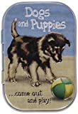 Nostalgic-Art 81297 Animal Club - Dogs and Puppies, Pillendose